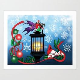 Snowflake Fairy Art Print