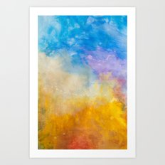 Motions of Color Art Print