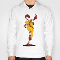 french fries Hoodies featuring McDonald's Burn French Fries by pexkung