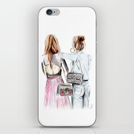 Street style girls iPhone Skin