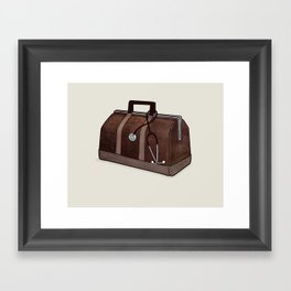 LOST Luggage / Jack Framed Art Print
