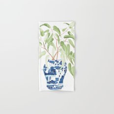 Ginger Jar + Eucalyptus Hand & Bath Towel