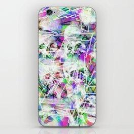 Rock n' roll skulls iPhone Skin