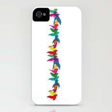 A colourful flight of fancy Slim Case iPhone (4, 4s)