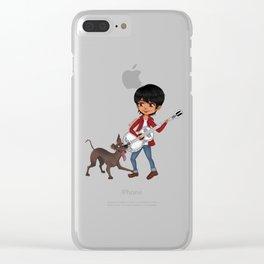Miguel and Dante - Cute Chibi Clear iPhone Case