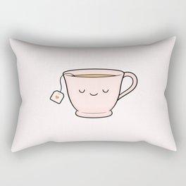 Cup Of Tea Rectangular Pillow