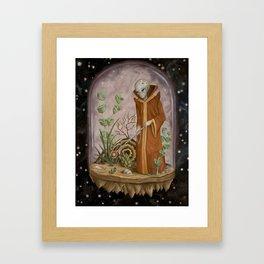 Cosmic Isolation Framed Art Print