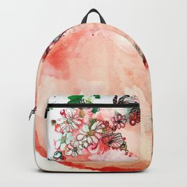 Little fox sleeping Backpack