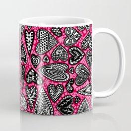 """hearts"" by lalaLaMonique Coffee Mug"
