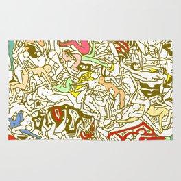 Kamasutra LOVE - Retro Yellow Rug