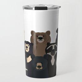 Bear family portrait Travel Mug