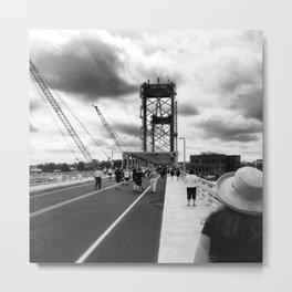 New Bridge Metal Print