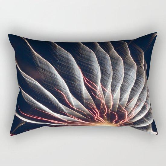 Swirl Lights Rectangular Pillow