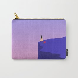 Cliff//Rose Carry-All Pouch