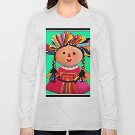 Mexican Maria Doll 3 Long Sleeve T-shirt