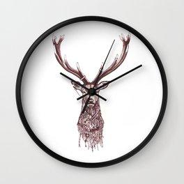 Steampunk Stag Wall Clock