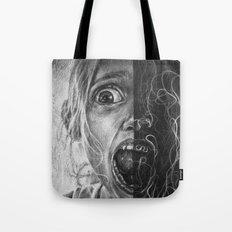 Girl Scream Tote Bag