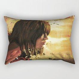 The Rain Rectangular Pillow