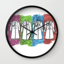 Sgt Pepper Opt 2 Wall Clock