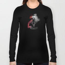 Battle Born MC- Red Wolf Logo Long Sleeve T-shirt