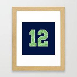 12th Man Framed Art Print