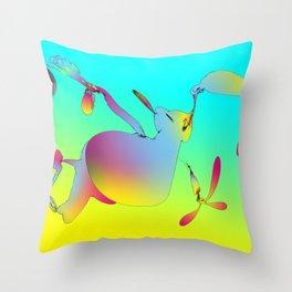 toonless 22-06-12 Throw Pillow
