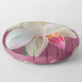 Pink Orchid Floor Pillow