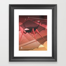 Close Encounter of the Sixth Kind - Conflict Framed Art Print