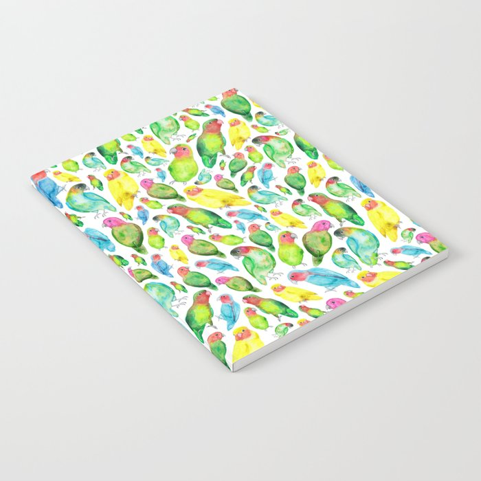 Love Birds Pattern Notebook