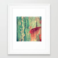 chaos Framed Art Prints featuring Chaos by Claudia Drossert