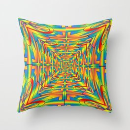 Pattrn-7.1 Throw Pillow