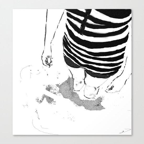 Black & White Study - 1 Canvas Print