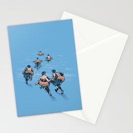 Cops Day Off Stationery Cards