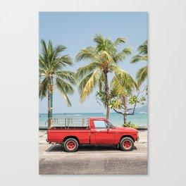 Thailand Beach Scene Canvas Print