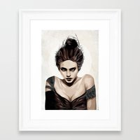 mother Framed Art Prints featuring Mother, dear by Feline Zegers
