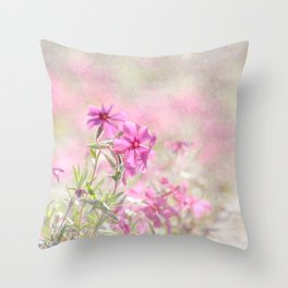 Spring Comes Gently Throw Pillow