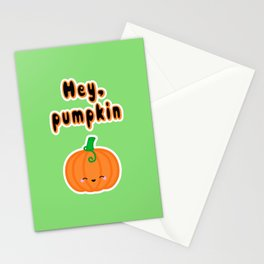 Hey, Pumpkin Stationery Cards