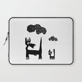 It's Raining Cats and Dogs Laptop Sleeve