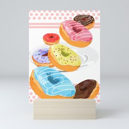 Donuts Mini Art Print