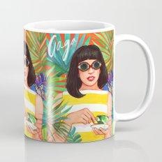 Palms and Stripes Mug