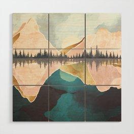 Summer Reflection Wood Wall Art