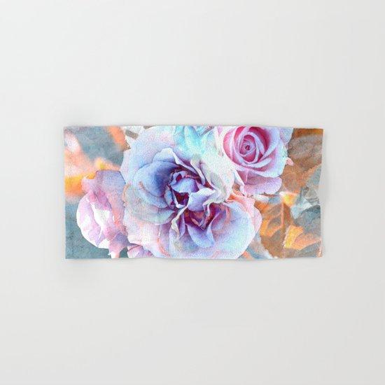 Vintage roses(6). Hand & Bath Towel