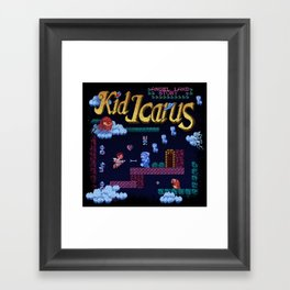 Icarus Kid Framed Art Print