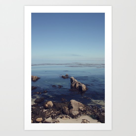 monterey horizon Art Print