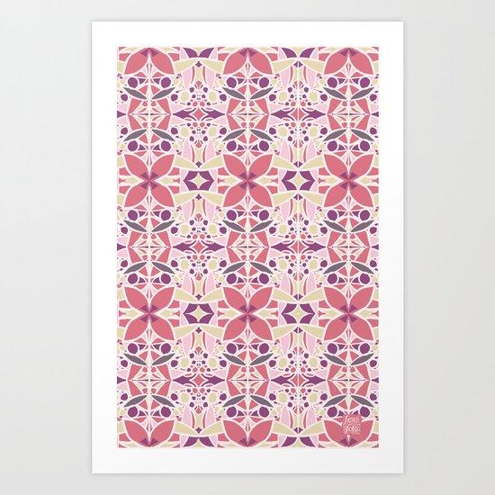 Petal Pusher Art Print
