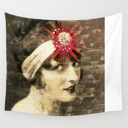Flapper Geometry Wall Tapestry