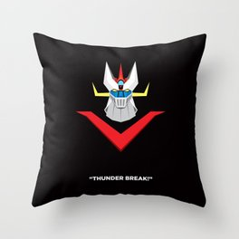 Great Mazinger Throw Pillow