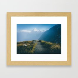 Routeburn Summit Framed Art Print