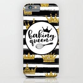 Baking Queen iPhone Case