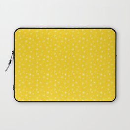 Yellow Dandelion Pattern Laptop Sleeve